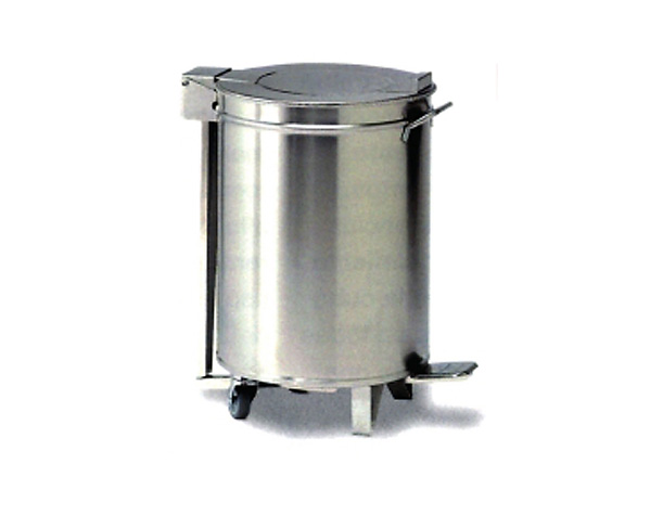 Cu 020 Bin With Wheels And Pedal